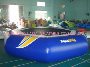 Cina Takeoff Towable And Inflatable Water Trampoline For Water Sports Games pabrik