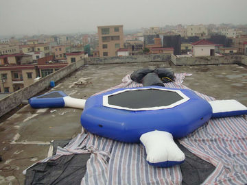 Cina Aquaglide Inversible Water Bouncer Lounge , Inflatable Water Games Factory pabrik