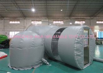 Durable Gray Outdoor Camping Inflatable Bubble Tent 2 Tahun Garansi
