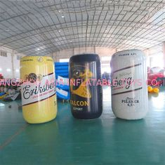 1,7 m Tinggi PVC Sealed Printing Inflatables / Blow Up Can