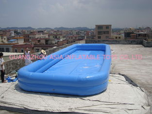 Cina Lovely New Design Huge Commercial PVC Adults and Kids Inflatable Pool with Various Colours pabrik