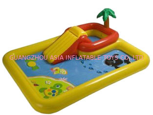 Cina Hotsale Kids Inflatable Pool Center with Basketball Hoop pabrik