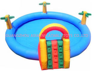 Homeusing Water Park Kids Inflatable Pool with Plam Trees
