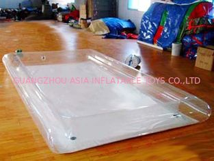 Transparent Water Park Kids Inflatable Pool for Sale