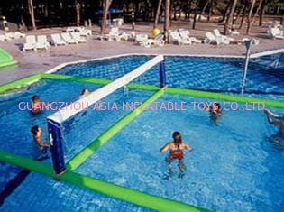 Cina Inflatable Water Volleyball Field For Swimming Pool Sports Games pabrik