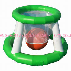 Cina Aqua Park Inflatable Water Basketball Shot Games For Adults pabrik