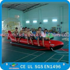 Cina Inflatable Single Tube Banana Boat, Inflatable Water Sports Boat pabrik