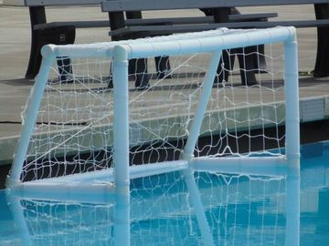 Cina Swimming pool Inflatable Water Sports , Portable Inflatable Water Polo Goal pabrik