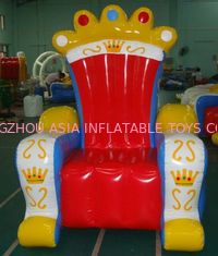 Cina Ce Certificated Inflatable King Chair Sofa Furniture For Rental pabrik
