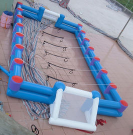 Cina Safe Giant Soccer Field Inflatable Football Playground Indoor / Inflatable Soccer Field pabrik