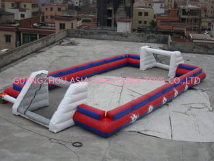Cina China Supplier Inflatable Sports Football Pitch Without Floor Sheet , Inflatable Soccer Field pabrik