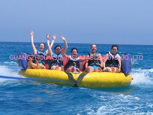 Cina Outdoor Inflatable Water Park Sports, Inflatable Towable Water Sofa pabrik