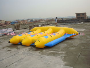 Cina Hot Air Welded Inflatable Flying Fish Boat for 6 Passengers pabrik