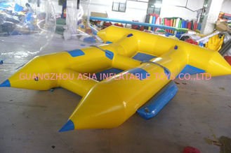Cina Customize Inflatable Flying Fish Boat for 4 Rides Ocean Adventure Sport pabrik