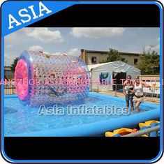 Cina Colourful Inflatable Water Walking Roller for outside activity , pabrik