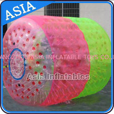 Cina Large Floating Wheel Inflatable Water Walking Roller Ball For Sale pabrik