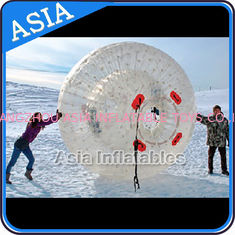 Cina Clear Inflatable Human Hamster Ball ,  Zorb Ball Used On Snow pabrik