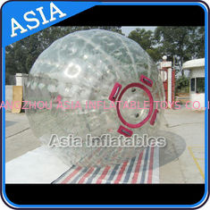 Cina 1.0mm PVC Inflatable Zorb Ball With One Entrance and Plug pabrik