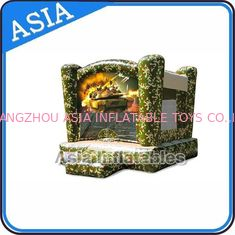 Cina Outdoor Inflatable Marine Camo Bongo Bouncer For Children Party Games pabrik