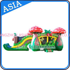 Cina Inflatable Strawberry Bouncer And Slide Combo Games For Children pabrik