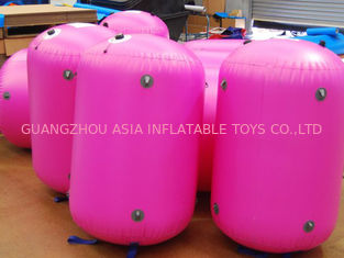 Cina 0.9mm PVC Tarpaulin customed inflatable paintball bunker pabrik