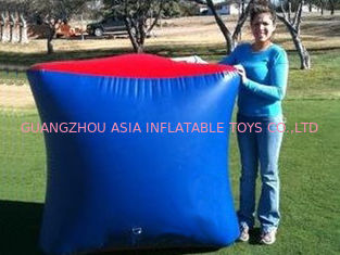 Cina Inflatable Paintball Bunker BUN26 with Flexible and Durable Anchor Strings pabrik