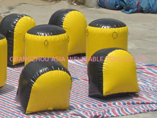 Cina Inflatable Paintball Bunker BUN31 Used on the Inflatable Bunkers pabrik