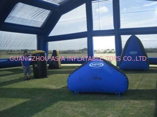 Cina Water Proof Inflatable Paintball Arena ARENA07 with Durable Anchor Rings pabrik