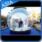 Airblown Yard Inflatable Bubble Tent Decoration , Inflatable Christmas Snow Globe pemasok