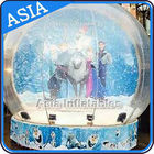Cina CE Approval X - Mas Christmas Inflatable Snow Globe For Photo Taking pabrik