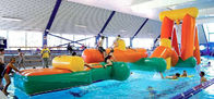Inflatable Aqua Challenging Sports, Inflatable Water Floating Obstacles pemasok
