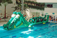 Water Challenge Sports Equipment, Inflatable Water Obstacle Courses pemasok