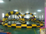 Simple Design Inflatable Race Track, Inflatable Go Kart Track, Inflatable Karting Track for Zorb Ball pemasok