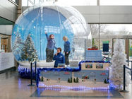 Cina Fantasy Inflatable Christmas Snow Globe / Bubble Tent for Sale pabrik