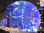 Cina Beautiful Christmas Inflatable Snow Globe For Party Decoration pabrik