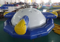 Inflatable Floating , Spinning Planet Saturn For Water Sports pemasok