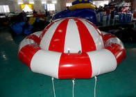 8 - 10 Person Inflatable Disco Boat Motorized Toys Semi Boat , Water Spinner Gyro pemasok