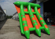 4-6 Passangers InflatableTowable Sport Games/ Fly Fishing Boat Fish Raft Boat pemasok