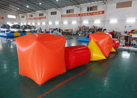 Triangle ,  Cube Shape and Cylinder shape of Inflatable Buoy On Sale For Water Games pemasok
