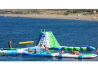 0.9mm PVC Tarpaulin Inflatable Water Parks With 3 Years Warranty pemasok