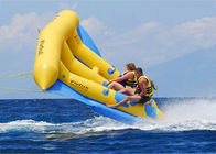 Inflatable Fly Fishing / Banana Boat / Water Floating Water Fun Ride Untuk 6 Riders pemasok