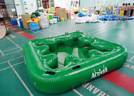 Water Proof Fiesta Inflatable Floating Island , Family Inflatable Boat pemasok