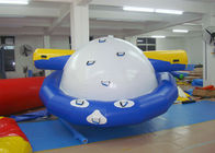 4 - 6 Person Water Inflatable Rotating Top Inflatable Water Gyro , Planet Saturn pemasok