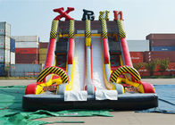 Ice Age Theme Inflatable Slide Rental Double Slide With Palm Tree / Inflatable Ice Age Slide pemasok