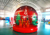 Holiday Decoration Large Christmas Inflatable Snow Globe 3m To 8m Diameter pemasok