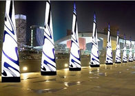 Dekorasi Pesta Inflatable LED Cone / Inflatable Lighting Cone pemasok