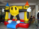 Red Mini Ring Arena Bouncer , Inflatable Amusement Park For Kids pemasok