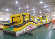 Children Inflatable Rock Climbing Wall, Inflatable Obstacles Challenge Games pemasok