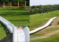 Slide Inflatable Outdoor Air Panjang Untuk Dewasa / 1000 FT Blow Up Slip N Slide pemasok