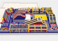 Durable 0.55mm PVC Inflatable Fun Park For Child Leadfree Water Resistant
